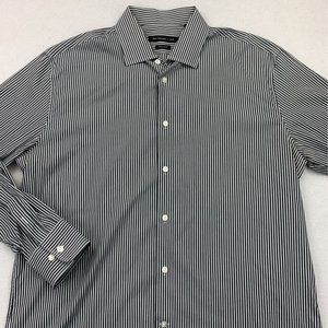 JOHN VARVATOS LONG SLEEVE BUTTON DOWN SHIRT 16.5